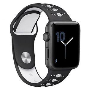 Apple Watch Silicone Sport 38/40mm remienok, Black vyobraziť
