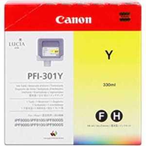 Kazeta CANON PFI-301Y yellow iPF 8000/8000s/8100/9000/9000s/9100 (330ml) 1489B001 vyobraziť