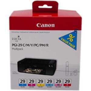 Kazeta CANON PGI-29 C/M/Y/PC/PM/R PACK PIXMA Pro 1 4873B005 vyobraziť