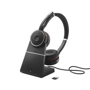 Headset Jabra Evolve 75, duo, USB-BT, MS, stojan 7599-832-199 vyobraziť