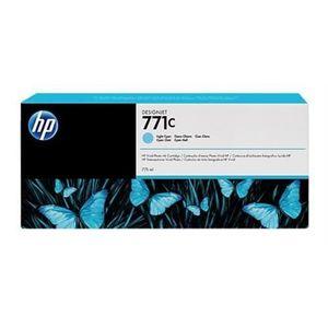B6Y12A Svetloazúrová atramentová kazeta HP 771C Designjet, 775 ml vyobraziť