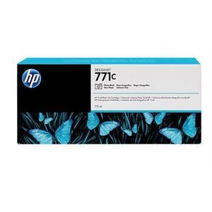 B6Y13A Fotografická čierna atramentová kazeta HP 771C Designjet, 775 ml vyobraziť