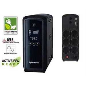 CyberPower UPS Intelligent PFC 1300VA-780W LCD CP1300EPFCLCD vyobraziť
