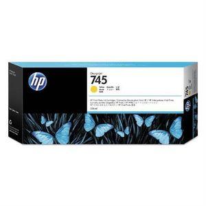 HP 745 300-ml Yellow Ink Cartridge F9K02A vyobraziť