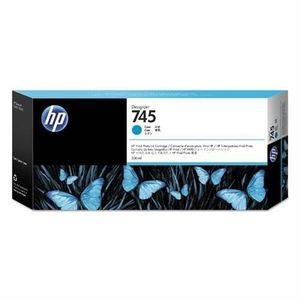 HP 745 300-ml Cyan Ink Cartridge F9K03A vyobraziť