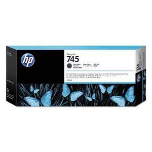 HP 745 300-ml Matte Black Ink Cartridge F9K05A vyobraziť