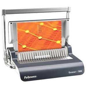 Viazač Fellowes Quasar + 500 /22 listov/ 80g/50 listov/hrebeň do 50mm FELQUASARPLUS vyobraziť