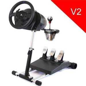 Wheel Stand Pro DELUXE V2, stojan na volant a pedále pre Thrustmaster T150, T300 a TX, T500, Logitech G29 T300/TX vyobraziť