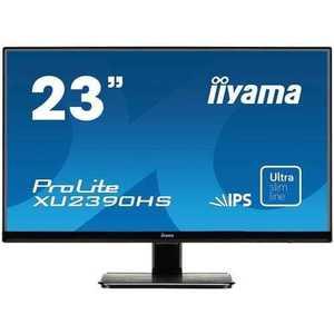 Monitor iiyama XU2390HS, 23'', IPS, 1920x1080, 5M: 1, 5ms, 250cd, D-SUB, DVI, HDMI, repro, čierny vyobraziť