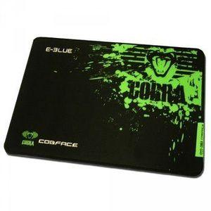 Podložka pod myš, Cobra S, herná, čierno-zelená, 28x22.5cm, E-Blue EMP005-S vyobraziť