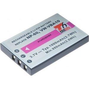 Baterie T6 power Fuji NP-60, KLIC-5000, NP-30, LI-20B, A1812A, L1812A, L1812B, BT.6530A.002, PX1656, SLB-1037, VW-VBA10, DCFU0001 vyobraziť