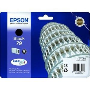 Epson atrament WF5000 series black L - 14ml C13T79114010 vyobraziť