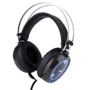 E-Blue, EHS965, herné slúchadlá s mikrofónom, ovládanie hlasitosti, čierna, 3.5 mm jack + USB podsvietené EHS965BKAA-IU vyobraziť
