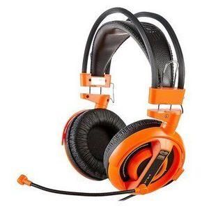 E-Blue, Cobra I, herné slúchadlá s mikrofónom, oranžová, 3.5 mm jack EHS013OG vyobraziť