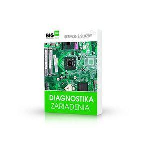 Diagnostika zariadenia DIAGNOSTIKA vyobraziť