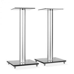 Electronic-Star BS58, dvojica reproduktorových stojanov, design, sklo, hliník vyobraziť