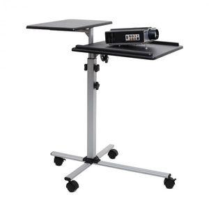 FrontStage Auna Stôl na projektor / beamer TS-2, 2 výškovo nastaviteľné vyobraziť
