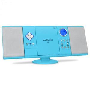OneConcept V12 stereo sys., MP3 CD prehr., USB, SD, AUX, mod vyobraziť