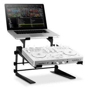 Resident DJ DJX-250 stojan na notebook a mixážny pult/controller, čierny vyobraziť