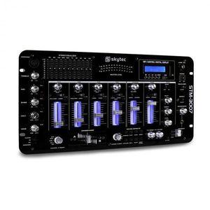 Skytec STM-3007, 6-kanálový DJ mixážny pult, bluetooth, USB, SD, MP3 vyobraziť