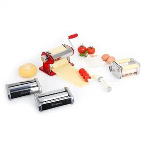 Klarstein Siena Rossa, červený, Pasta Maker, zariadenie na výrobu cestovín, 3 nadstavce vyobraziť