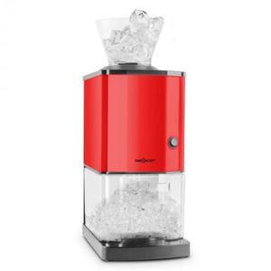 OneConcept Icebreaker, červený, drvič ľadu s výkonom 15kg/h, objemom 3, 5l, zásobníkom na ľad, nerezová oceľ vyobraziť