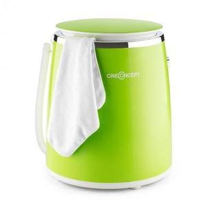 OneConcept Ecowash-Pico, zelená, mini práčka, funkcia žmýkania, 3, 5 kg, 380 W vyobraziť