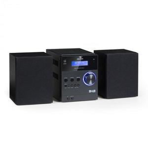 Auna MC-20 DAB micro stereo zariadenie, DAB+, bluetooth, diaľkové ovládanie, čierna farba vyobraziť