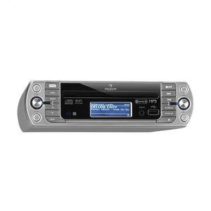 Auna KR-500 CD kuchynské rádio, internetové/PLL FM rádio, WiFi, CD/Mp3 prehrávač vyobraziť