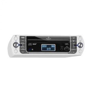 Auna KR-400 CD kuchynské rádio, DAB+/PLL FM rádio, CD/Mp3 prehrávač, biele vyobraziť