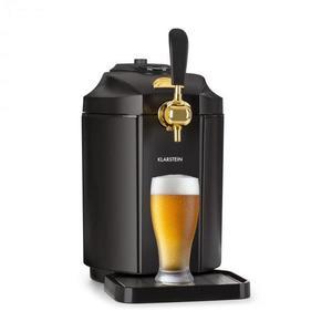 Klarstein Skal, výčapné zariadenie, chladenie piva, 5 l súdok, CO2, ušľachtilá oceľ, čierne vyobraziť