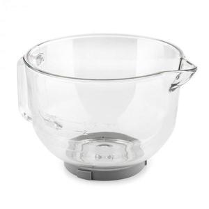 Klarstein Bella Glass Bowl sklená miska, príslušenstvo k Bella 2G kuchynským robotom vyobraziť