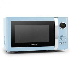 Klarstein Fine Dinesty, 2 v 1 mikrovlnná rúra: 23 l, 800 W/gril: 1000 W, modrá vyobraziť