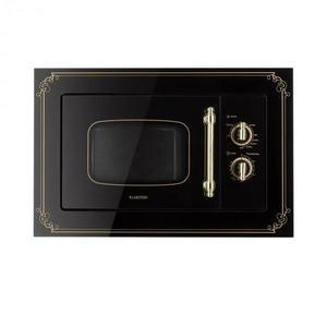 Klarstein Victoria 20, vstavaná mikrovlnná rúra, 20 l, 800 W, gril: 1000 W, čierna vyobraziť