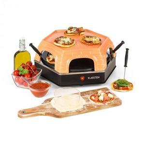 Klarstein Capricciosa, rúra na pečenie pizze, 1500 W, kryt z terakoty, funkcia udržiavania teploty vyobraziť