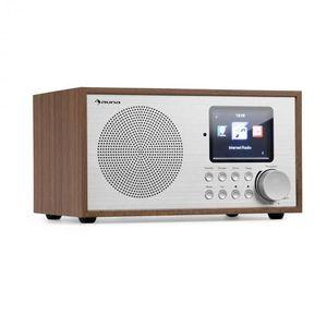 Auna Silver Star Mini, internetové DAB+/FM rádio, WiFi, BT, DAB+/FM, dub vyobraziť