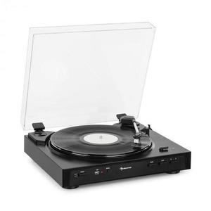 Auna Fullmatic, plne automatický gramofón, USB, predzosilňovač, čierny vyobraziť