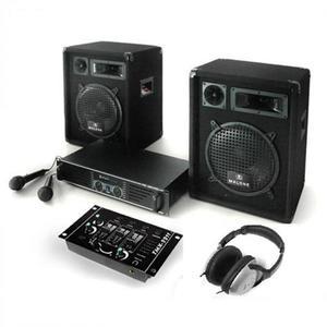 Electronic-Star Bass Boomer, PA systém, set zosilňovača, reproduktorov a mikrofónov vyobraziť