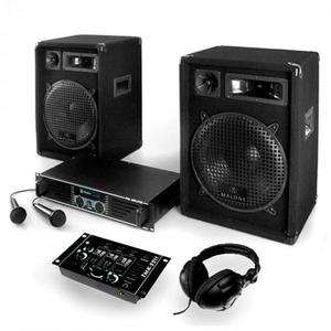 "Electronic-Star Set ""Basstigall"", zesilovač, repro, mikrofon, 1200W vyobraziť"