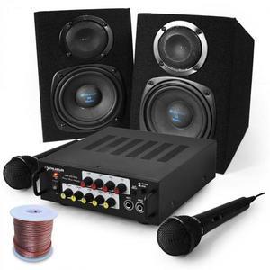 "Electronic-Star Karaoke set ""Pony´s Ranch"" reproduktory & mikrofón vyobraziť"