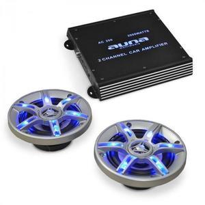 Electronic-Star Auto hi-fi set BeatPilot FX-202, reproduktory, zosilňovač vyobraziť