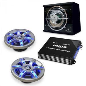 Electronic-Star Auto hi-fi setBeatPilot FX-211, reproduktory, zosilňovač vyobraziť