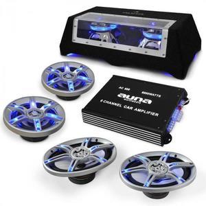 Electronic-Star Hifi set reproduktorov a zosilňovača do auta vyobraziť