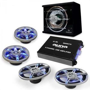Electronic-Star Auto hi-fi setBeatPilot FX-413, reproduktory, zosilňovač vyobraziť