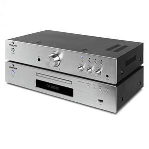 """Auna """"Elegance Tower"""", 2.0 HiFi sada, CD prehrávač, 600 W vyobraziť"""