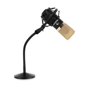 Auna Set študiového mikrofónu a stojanu na mikrofón vyobraziť