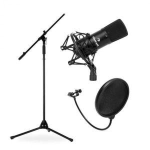 Electronic-Star Mikrofónový set, stojan, mikrofón a pop filter vyobraziť