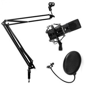 Electronic-Star Set študiového mikrofónu a ramenového stojanu na mikrofón vyobraziť