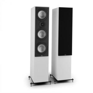 Numan Reference 801c, trojcestný stojaci reproduktor, pár, biela farba vrátane čiernych krytov vyobraziť