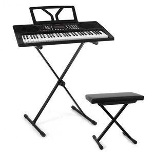 SCHUBERT Schubert Etude 300, set keyboard + stojan na klávesy + stolička, čierna vyobraziť